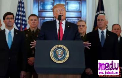 """美国斩首苏莱马尼,伊朗导弹袭击美军基地,伊朗美国唱""""双簧"""",他们谁更流氓?"""