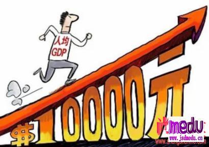 人均GDP一万美元,我陷入了沉思