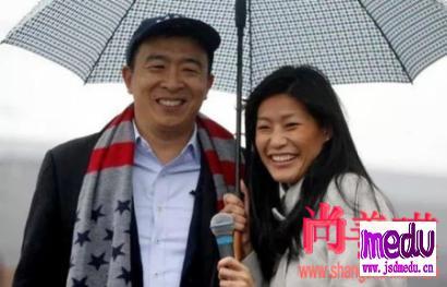 美总统华裔参选人杨安泽妻子卢艾玲 自揭产检遭名医性侵