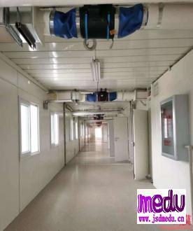 武汉火神山医院内部照片曝光,17年前就已在小汤山医院上演