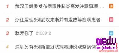 武汉新型肺炎确诊病毒肺炎319例死亡6例,请你们别再吃野味了