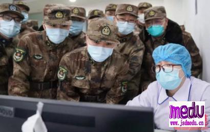 武汉新冠肺炎疫情继续,疾控中心主任高福院士工作依旧