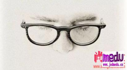 眼睛近视了,要不要戴眼镜?听说戴眼镜会使眼睛变小是真的吗?