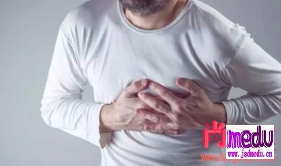 心律失常症状:经常会心脏猛的一疼