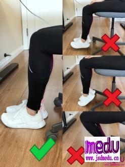 如何久坐不累,预防腰腿疼