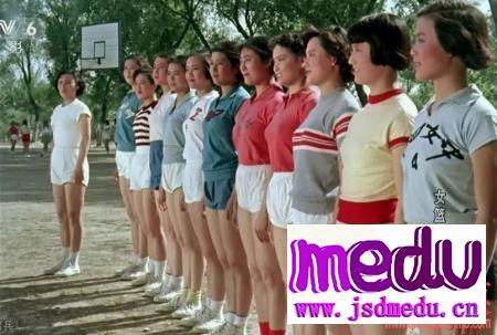 钟南山院士的夫人李少芬,来自于《女篮五号》上海女子篮球队